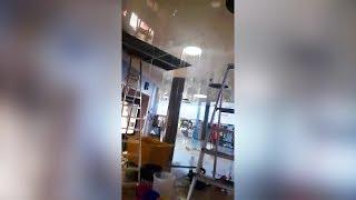 """Her """"regner"""" det inne på Bjørklund-butikken"""