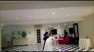 First dance on mahi aaja at Fusion wedding
