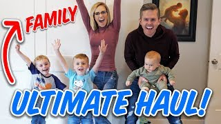 VACATION Haul + Family Travel Tips! | Ellie And Jared
