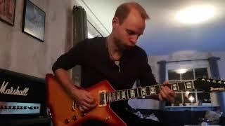 Frontback - Honest - Guitar solo [Marshall JMP-1 Pre-amp + Marshall DSL100 JCM 2000]