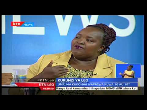 KTN Leo: Elewa Sheria; Sheria dhidi ya dhuluma za Ngono, Januari 3 2017