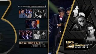 Breakthrough Of The Year Indonesian Choice Award 2016 on NET 3.0