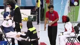 8th Asian Junior Taekwondo Championships. Final female -42