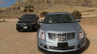 2013 Cadillac SRX vs Lexus RX 350 F-Sport 0-60 MPH Mile High Mashup Review