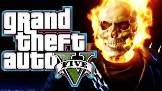 CEL MAI TARE MOD in GTA 5 - GHOST RIDER !