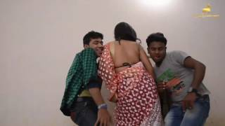 Bengali Munni Bhabhi Romancce With Two Young Boys | Hot Bed Scene | Latest Hot Romance 2016