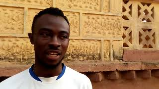 AREA BEST FC SPEAKS TO ALUSINE REHME WILSON AHEAD OF THEIR FRIENDLY AGAINST R.STRASSER FOUNDATION FC
