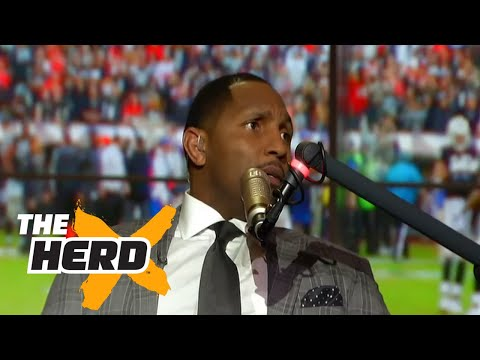 Ray Lewis takes you inside his visit with Donald Trump THE HERD FULL INTERVIEW