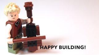 How To Build: LEGO Cello Micro-build