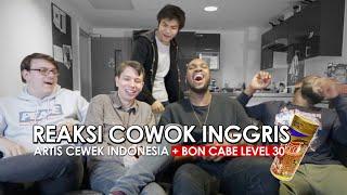 REAKSI COWOK INGGRIS/UK Ke Cewek Indonesia: Artis VS YouTuber/Celebgram Feat. Boyband + BON CABE
