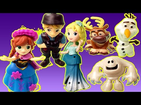 Xxx Mp4 Gertit Plays With Disney Characters Playset Pretend Play With Anna And Elsa And The Monster Snowman 3gp Sex