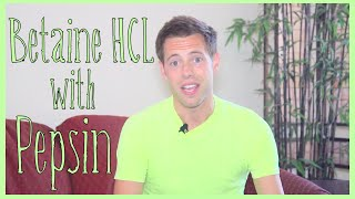 Betaine HCL with Pepsin & ACV Review