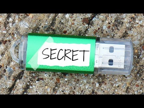 I FOUND A FANS MINECRAFT USB SECRET