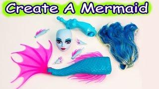 Mermaid Siren Create A Monster High Doll Add On Starter Pack CAM Playset Set Cookieswirlc