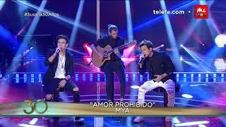 MYA: Maxi Espíndola y Agus Bernasconi cantan