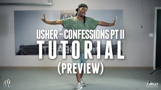 Dance Tutorial [Preview] - Usher - Confessions Choreography by WilldaBeast Adams