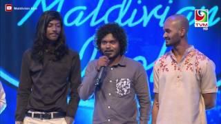 Maldivian Idol Gala Round | Roohuge Zeyvaru - Zaleef, Tholaq and Shalabee