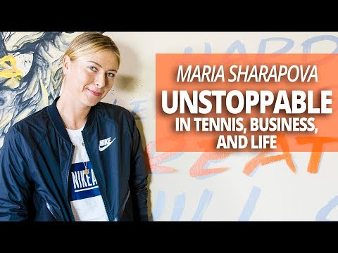 Maria Sharapova: Unstoppable in Tennis, Business, and Life with Lewis Howes