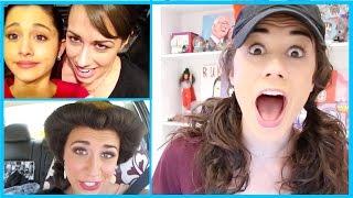 MY EMBARRASSING OLD VIDEOS! (fetus Ariana Grande, & fetus me)