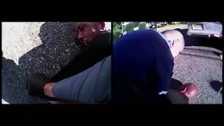 Body cam captures epileptic man's tussle with police