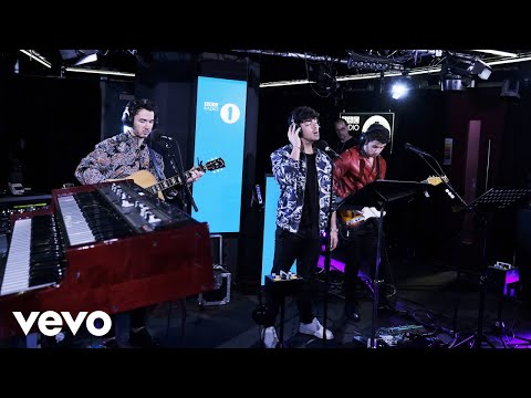 Jonas Brothers Someone You Loved Lewis Capaldi cover in the Live Lounge