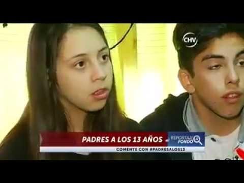 Niños que son padres - Reportaje Chilevisión