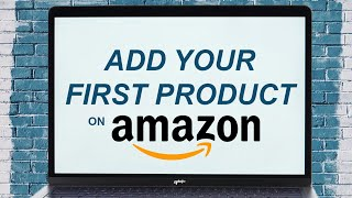 How to upload a product on Amazon
