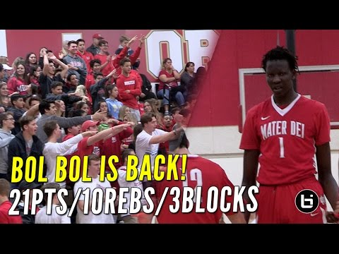 First Bucket Of The Season Is A Dunk! Featuring 7 Footer Bol Bol