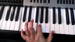 Bhanware ki gunjan piano tutorial-ADVANCED (one octave lower)