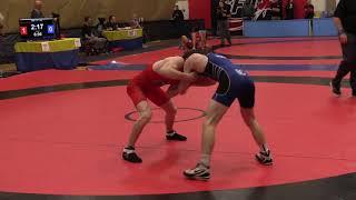 2018 Commonwealth Games Trials: 57 kg Alex Moher vs. Cameron Hicks
