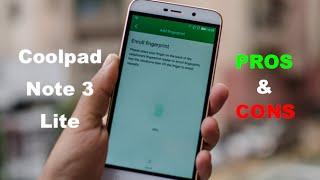 Coolpad Note 3 Lite Review with Pros and Cons