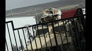 Military Convoys Carrying Generators Through Out Colorado!
