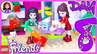 Lego Friends Day 8 Advent Calendar Christmas Countdown 2016 Build Review - Kids Toys