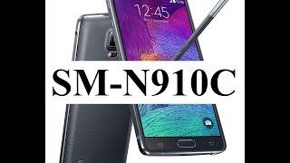 Samsung Galaxy Note 4 SM-N910C Bandas 4G LTE