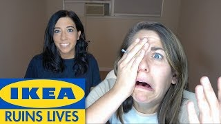 What REALLY happens when you build Ikea furniture