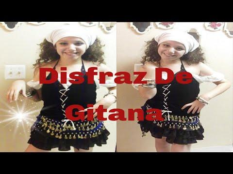Como hacer un disfraz de Gitana Gipsy