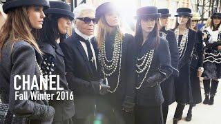 CHANEL Fall 2016 ft Karl Lagerfeld, Willow Smith, Pharrell, Kendall Jenner, Gigi Hadid   MODTV