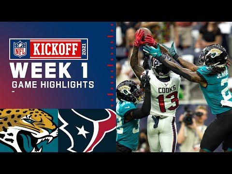 Jaguars vs. Texans Week 1 Highlights NFL 2021