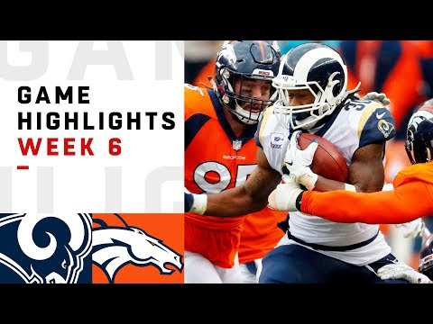 Xxx Mp4 Rams Vs Broncos Week 6 Highlights NFL 2018 3gp Sex