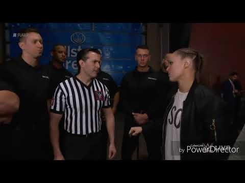 Xxx Mp4 Ronda Rousey And Her Husband Travis Browne Attack WWE Security On RAW 3gp Sex