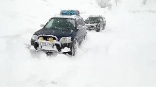 Mitsubishi l200 2016 - offroad-тест в снегах россии + немного pajero v6