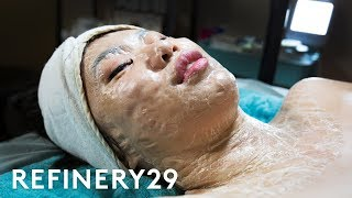 I Tried This Terrifying Facial | Beauty With Mi | Refinery29