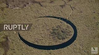 Argentina: Desvendando o mistério da ilha rotativa 'O Olho' continua