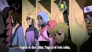 Kabuto revive a los akatsuki 4 guerra ninja