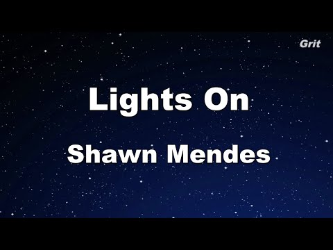 Xxx Mp4 Lights On Shawn Mendes Karaoke 【With Guide Melody】 Instrumental 3gp Sex