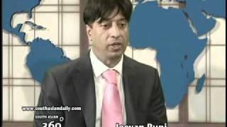 South Asian 360 degrees aug. Huma Khan/Yudhvir Jaswal