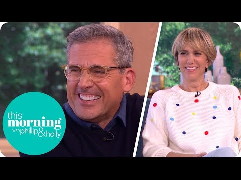 Steve Carell and Kristen Wiig Still Love Working Together This Morning