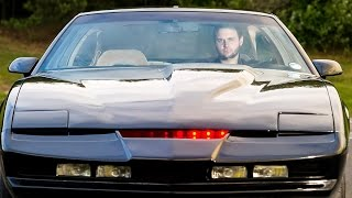 Real Life Knight Rider: Fan Spends £18,000 Recreating Iconic Car