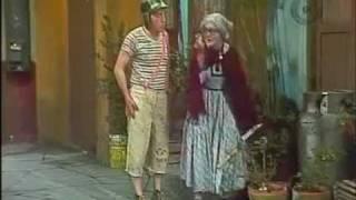 Chaves - Dona Neves jardineira - Episódio inédito (Espanhol)