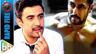 Amit Sadh's RAPID FIRE On Salman Khan | Aamir Khan | Sultan | Bajrangi Bhaijaan